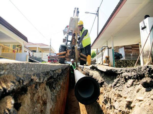 Sejumlah RM161.9 juta telah dibelanjakan pada tahun 2019 untuk kerja-kerja penggantian 168.34 km paip lama dan yang kerap pecah.