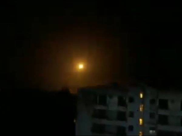 Tujuh termasuk empat pegawai Iran terbunuh selepas Israel mengebom ibu negara Syria, Damsyik. -Foto media sosial