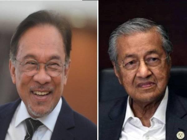 Anwar, Mahathir