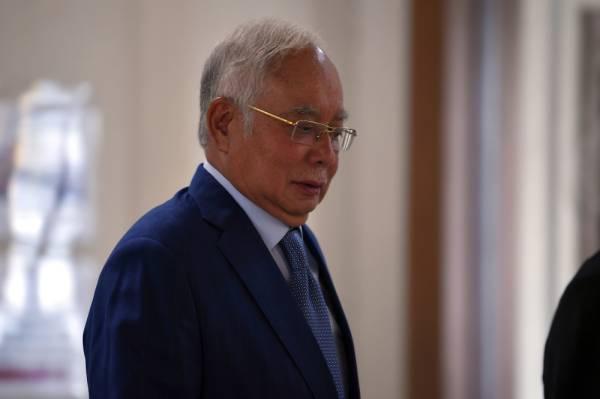 Bekas Perdana Menteri Datuk Seri Najib Tun Razak  -Foto Bernama