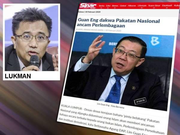 Lukman menggesa pihak berkuasa mengambil tindakan terhadap mana-mana kenyataan pemimpin parti kerajaan dan pembangkang yang memainkan sentimen keagamaan dan perkauman.