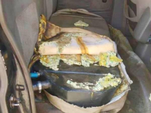 Serbuan di salah sebuah stesen minyak di Rantau Panjang, PGA telah merampas 230 liter diesel yang cuba diseludup menggunakan tangki tambahan.