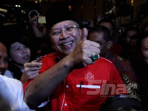 Setiusaha Agung UMNO, Tan Sri Annuar Musa tiba di Hotel Sheraton