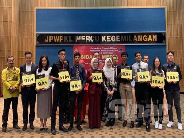 Sembilan pelajar WPKL memperolehi keputusan cemerlang tertinggi (A ) dalam SPM 2019.