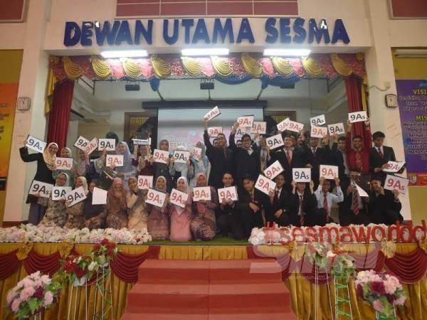 SM Sains Sultan Mahmud merekodkan seramai 38 calon mendapat 9A dalam SPM 2019.