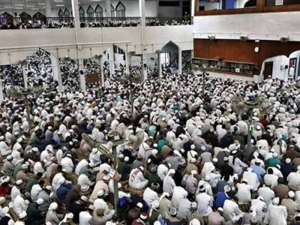 Ijtimak tabligh yang berlangsung di Masjid Jamek Sri Petaling pada 28 Februari hingga 2 Mac lalu.