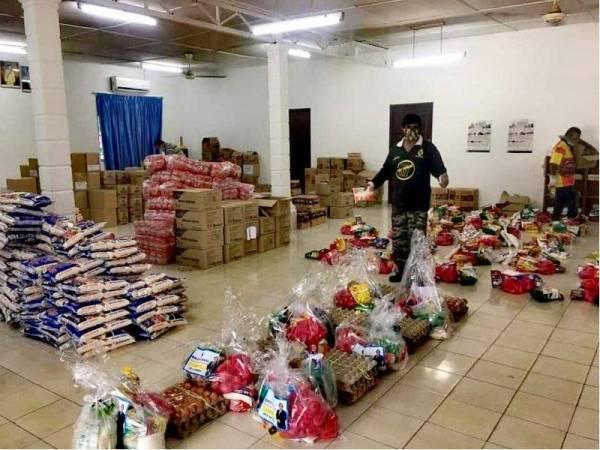 Kerajaan Negeri Sembilan menyediakan bantuan khas barangan keperluan.