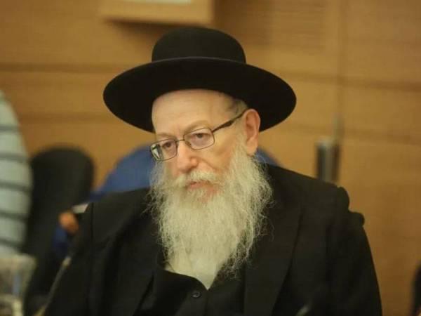 Ya'acov Litzman - Foto The Jerusalem Post