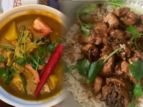 Antara masakan sepanjang PKP yang dimuatnaik di Facebook Madeline