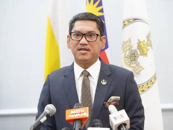 Ahmad Faizal - Foto Pejabat Menteri Besar Perak