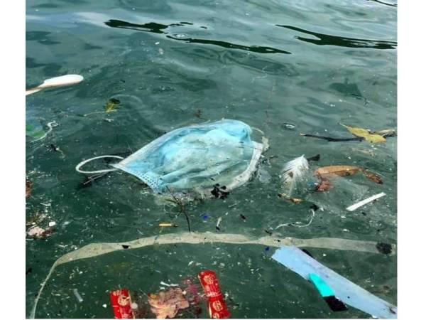 Topeng Muka Sarung Tangan Sampah Baharu Di Sungai Klang