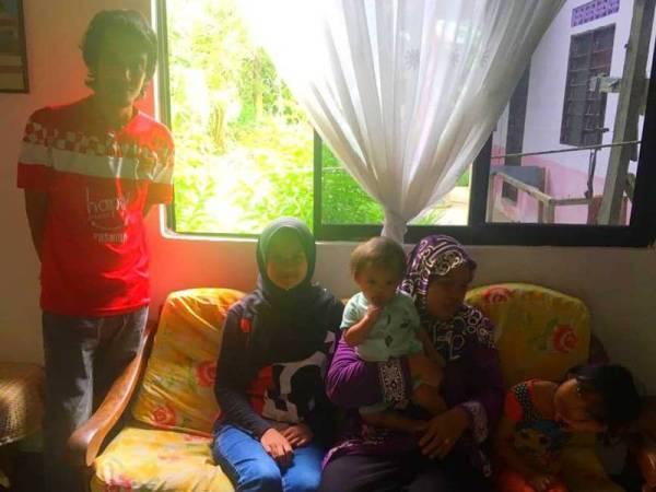 Muhamad Nor bersyukur dapat pulang kepangkuan keluarga dengan selamat hasil doa dan bantuan daripada semua pihak.