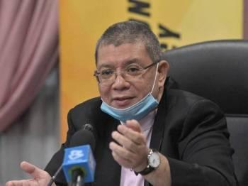 Menteri Komunikasi dan Multimedia Datuk Saifuddin Abdullah - Foto Bernama