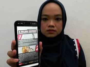 Kisah Nurulazma Shafiqah melibatkan kerugian lebih RM100,000.