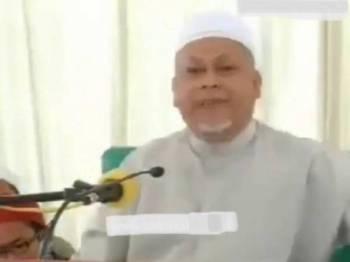 Mohd Amar ketika menyampaikan ceramah tersebut 2012 lalu.