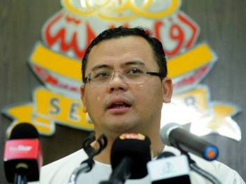 Menteri Besar Selangor Datuk Seri Amirudin Shari - Foto Bernama
