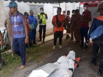 Mayat Wan Hafizan yang dijumpai di dalam sungai di Kampung Padang Sakar, Salor oleh pasukan dari Jabatan Bomba dan Penyelamat dibawa ke darat serta dihantar ke Hospital Raja Perempuan Zainab II untuk bedah siasat.