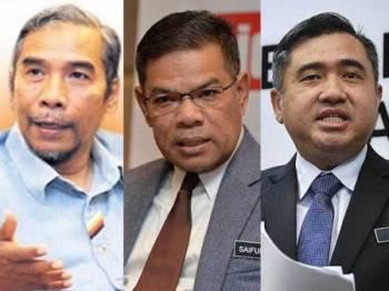 Hatta, Saifuddin Nasution dan Anthony Loke