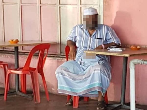 Lelaki itu ditahan polis sebelum dikompaun RM1,000 dan diarahkan untuk menjalani proses kuarantin di rumah.