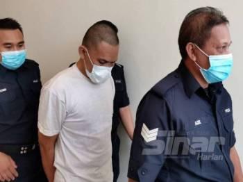 Shahrul Pitri dijatuhi hukuman gantung sampai mati kerana membunuh tiga beradik di Mahkamah Tinggi Ipoh hari ini.