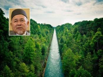 Tuan Ibrahim Tuan Man, lebuh raya air