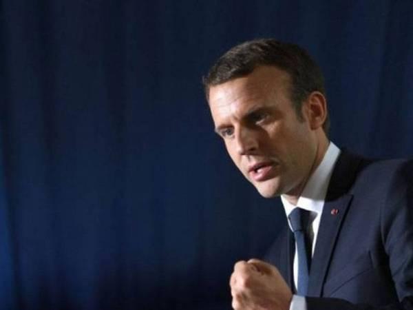 Presiden Perancis, Emmanuel Macron mendesak supaya pembaharuan politik dilakukan di Lubnan. - Foto AFP