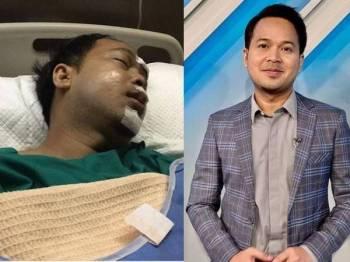 Fedtri Yahya selesai menjalani pembedahan akibat kemalangan malam tadi. - Foto Instagram Fedtri Yahya