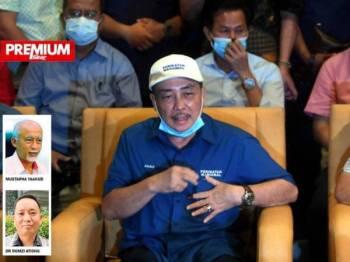 Gabungan Rakyat Sabah (GRS) sebulat suara menamakan Hajiji sebagai calon Ketua Menteri Sabah yang baharu.  -Foto Bernama