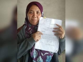 Siti Hafsah berharap dapat menemui bapa kandung untuk menjadi wali pernikahannya bulan depan.