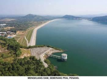 Kerajaan Pulau Pinang dilaporkan bersetuju untuk menerima semula projek Empangan Mengkuang yang akan diserahkan pada 26 Oktober ini.
