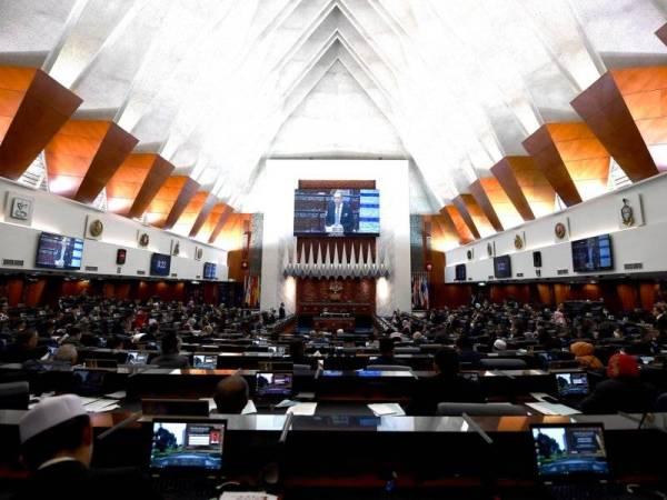 Dewan Rakyat -Foto Bernama