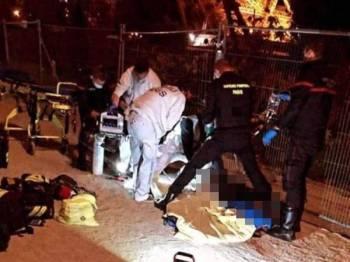 Kedua-dua mangsa ditikam beberapa kali ketika kejadian pada akhir minggu lalu. - Foto: Agensi
