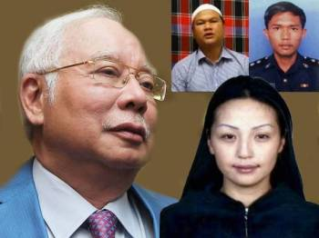 Najib, Azilah, Altantuya dan Sirul