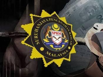SPRM Cawangan Sandakan menahan dua anggota polis selepas disyaki meminta rasuah.