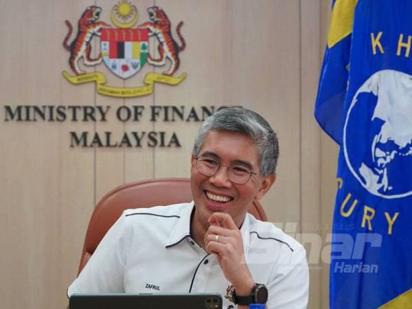 Tengku Zafrul  ketika ditemubual dalam wawancara eksklusif bersama Sinar Harian di Putrajaya baru-baru ini.