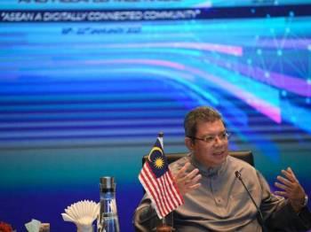Datuk Saifuddin Abdullah  - Foto Bernama