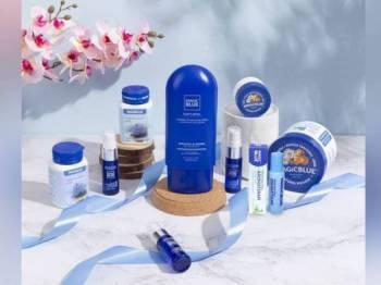 Antara produk yang dihasilkan oleh Magic Blue.