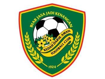 Logo rasmi KDA FC yang telah didaftarkan sebagai hakmilik dan tanda dagang di Perbadanan Harta Intelek Malaysia (MylPO).