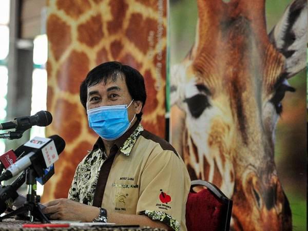 Rosly pada sidang akhbar mengenai Program Jom Memancing @ Zoo Negara pada Rabu. Foto Bernama