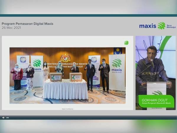 Maxis menjalankan bengkel pemasaran digital.