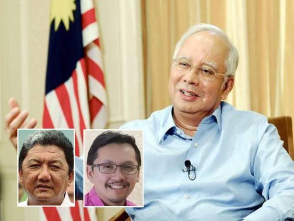 Gambar kecil dari kiri: Ahmad Zaini Japar, Mohd Irwan Rizal