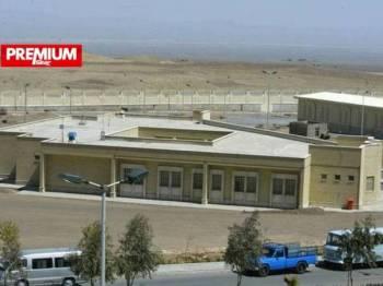 Satu letupan yang menyebabkan kerosakan besar berlaku di kemudahan nuklear di Natanz, Iran pada pagi Ahad lalu. - Foto AFP