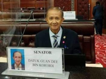Guan Dee. Foto Facebook Datuk Guandee kohoi