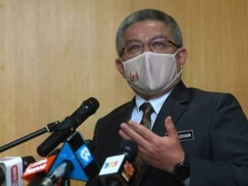 Datuk Seri Dr Adham Baba. - Foto Bernama