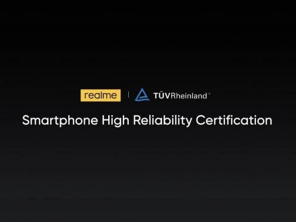 realme telah melancarkan piawaian mutu realme x TÜV Rheinland dan mengumumkan standard kualiti telefon pintar baharu.
