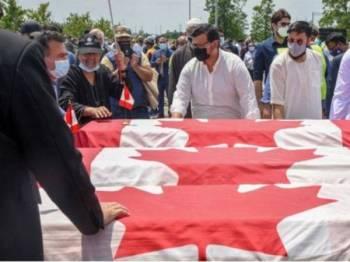 Empat ahli keluarga Muslim terbunuh selepas dirempuh sebuah pikap di selatan wilayah Ontario, Kanada pada 6 Jun lepas. - Foto Reuters
