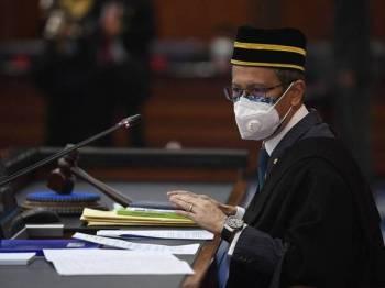 Yang Dipertua Dewan Rakyat,Datuk Azhar Azizan Harun. - Foto Bernama
