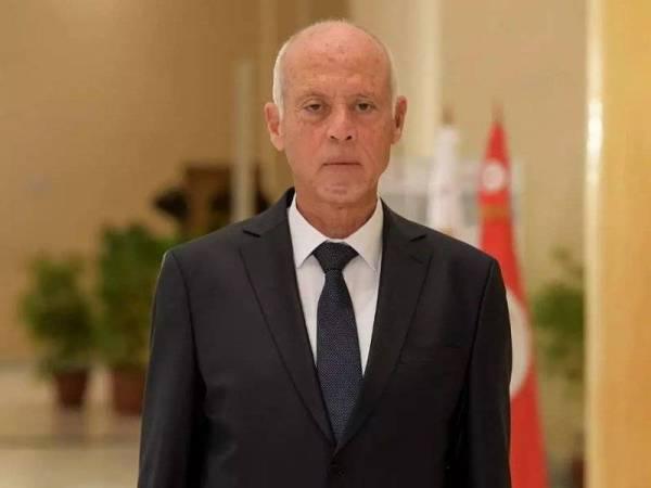 Presiden Tunisia, Kais Saied. - Foto AFP