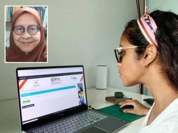 Pertandingan MasterMalaysia secara atas talian bermula 16 September lalu sehingga 16 September tahun ini. Gambar kecil: Fauziah Mohd Ramly