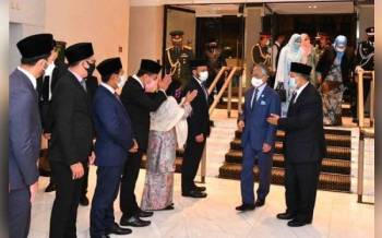 Foto Facebook Istana Negara